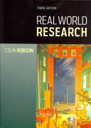 Book cover image for 'Real World Research'