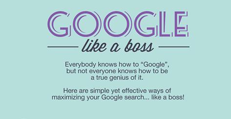 Google like a boss