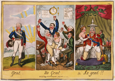 Cartoon of the Prince Regent