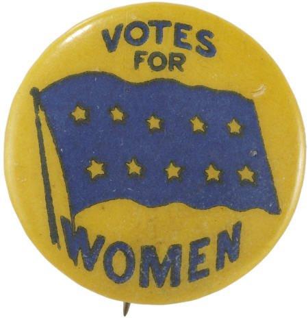 Womenn's Vote Button