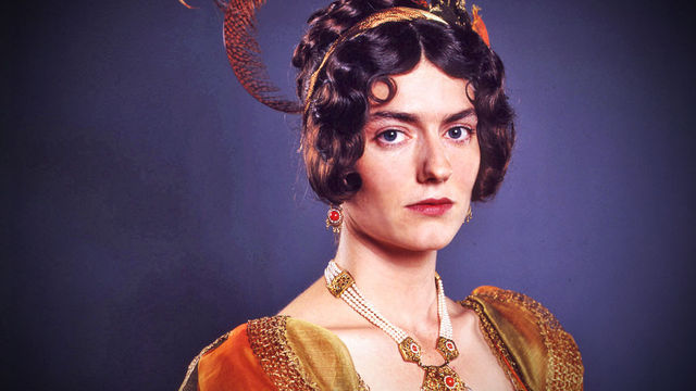 Anna Chandler, as Caroline Bingley