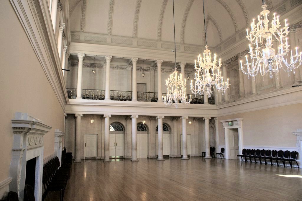 Assembly Room in Bath, UK