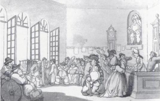 illustration of Pump Room, Bath UK