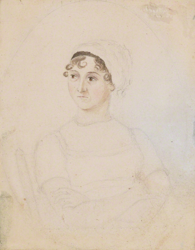 Cassandra's portrait of Jane Austen