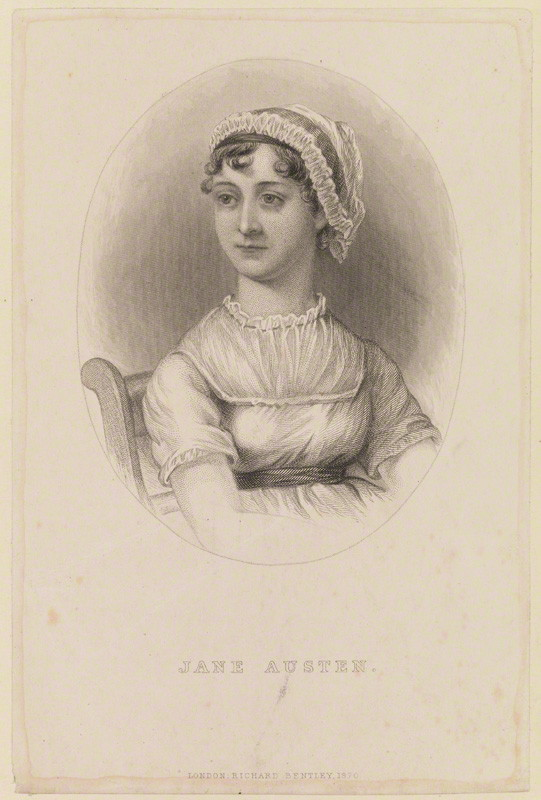 Jane Austen by Richard Bentley