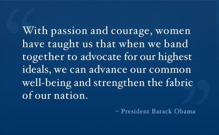 President Obama quote for WHM