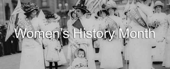 """The Youngest Marcher"" Suffrage March"