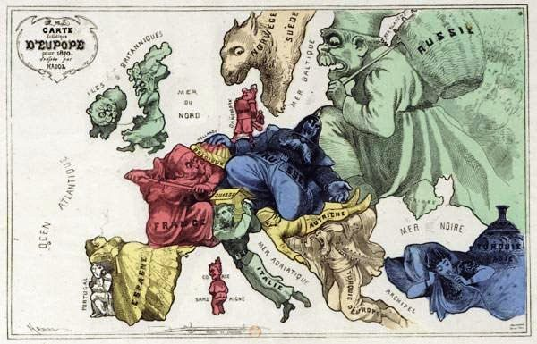 Europe in Caricature