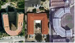 unc spelled with aerial photos from geogreeting