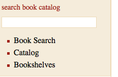 Project Gutenberg book search options
