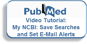 Video Tutorial: Save Searches and Set E-mail Alerts