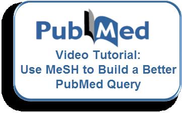 Video Tutorial - Use MeSH