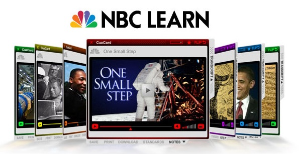 NBC Learn webpage view