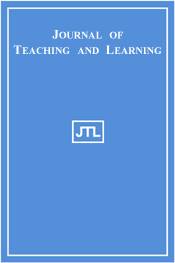 Journal of Teaching and Learning cover