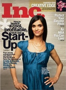 July, 2007, cover of Inc. magazine