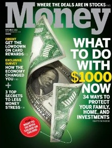 November, 2011, cover of Money magazine