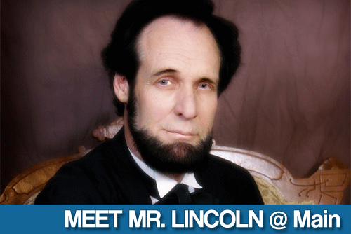 Meet Lincoln at the Main Library!