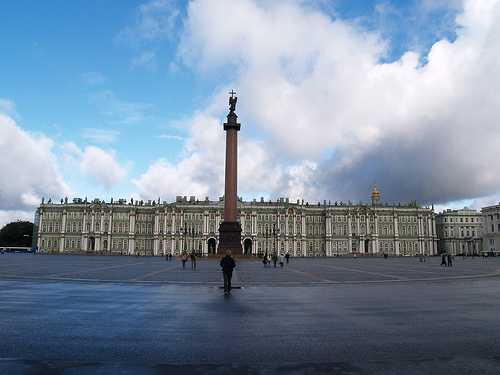 The Hermitage and Palace Square, St. Petersburg