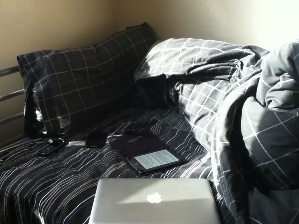 picture of home working set up