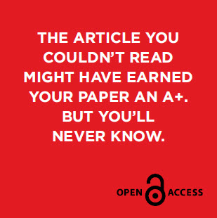 That article you couldn't read might have earned your paper an A+. But you'll never know.