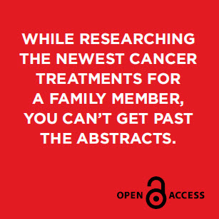 While researching the newest cancer treatments for a family member, you can't get past the abstracts.