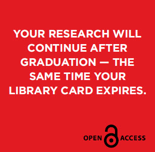 Your research will continue after graduation-the same time your library card expires.