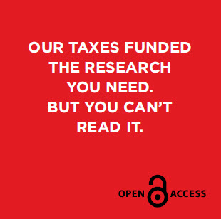 Our taxes fund the research you need. But you can't read it.