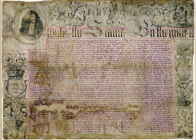 Penn's Charter: 1681
