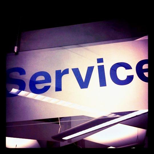 Customer Services Counter