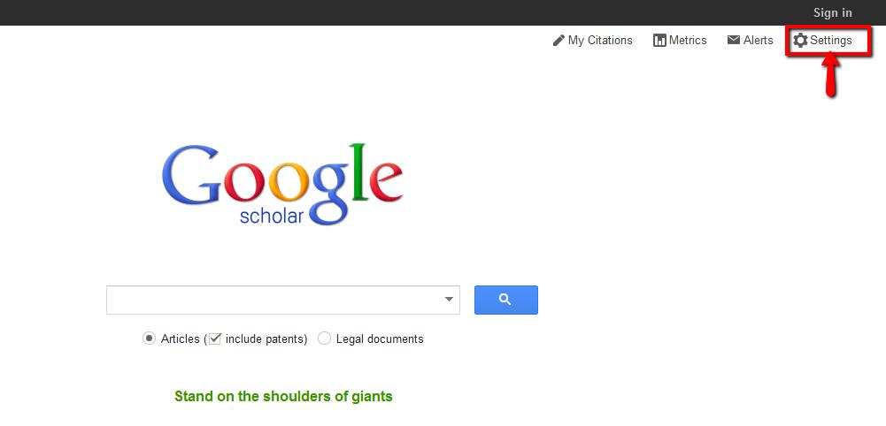 Google Scholar Image 1