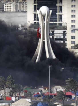 """""""Image of Pearl Roundabout After the Pearl Revolution"""""""