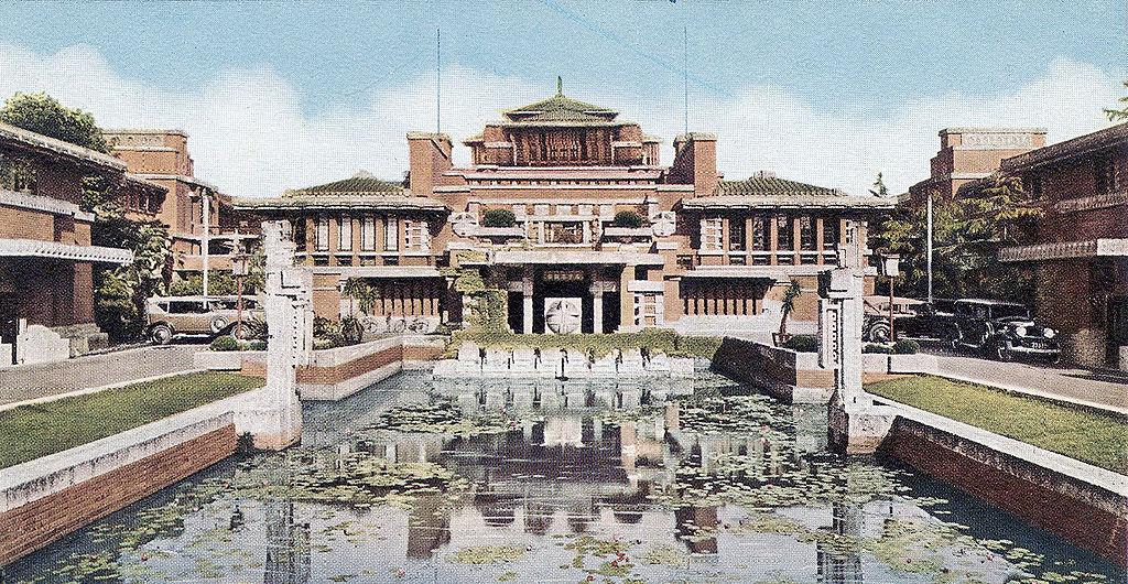 Tokyo Imperial Hotel by Frank Llloyd Wright