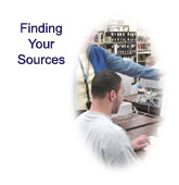 Finding Your Sources: Learn about the information resources at the Library and how and when to use them.