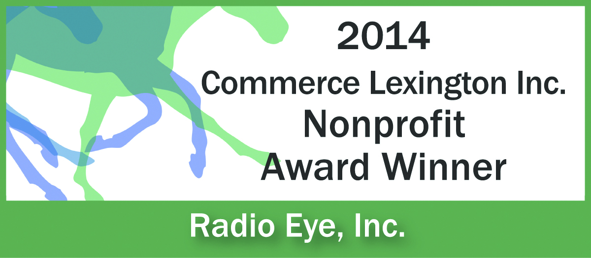 2014 Commerce Lexington Nonprofit Award Winner