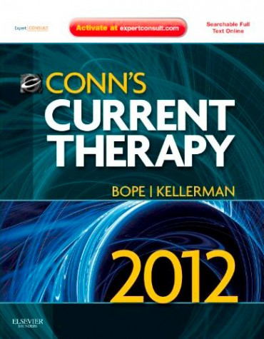 Bope and Kellerman: Conn's Current Therapy 2012, 1st ed. Saunders, 2011