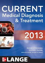 Current medical diagnosis & treatment, 2013