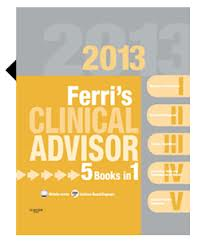 Ferri's Clinical Advisor 2013, 1st ed. 2012