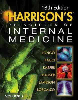 Harrison's Principles of Internal Medicine, 18th ed., 2012