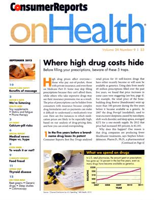 OnHealth: Consumer Reports