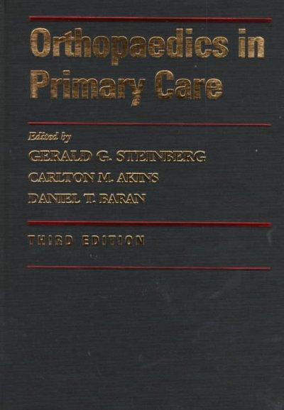 Orthopaedics in Primary Care