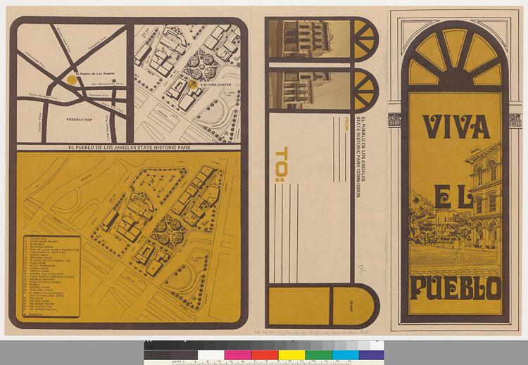 Viva El Bpueblo Brochure, UCLA Special Collections, Courtesy UC Regents