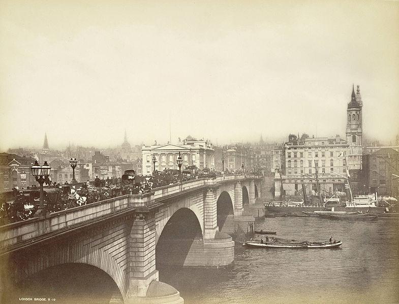 New London Bridge, courtesy Cornell University