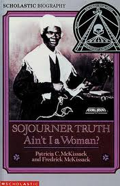 Black and white photograph of Sojourner Truth