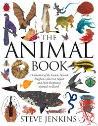 Various animals, large and small, surrounding the title of the book