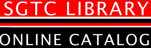 SGTC Online  Catalog