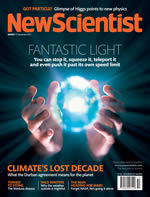 New Scientist cover image