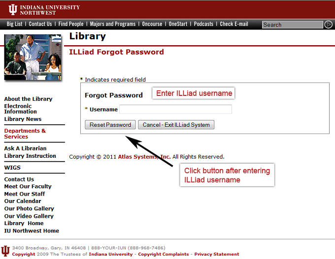 ILLiad Forgot Password 1