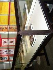 Left panel of display