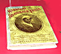 Narrative of Sojourner Truth in the Display Case
