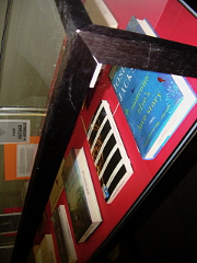 Closeup of the Display Case.